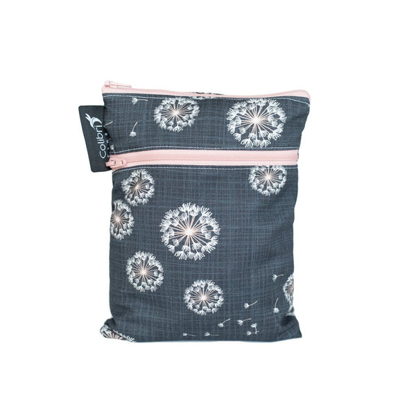 Colibri - Dandelion Double Duty Reusable Mini Wet Bag Made in Canada Zero Waste Bags All Things Being Eco