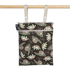 Colibri - Reusable Double Duty Cloth Wet Bag Made in Canada All Things Being Eco