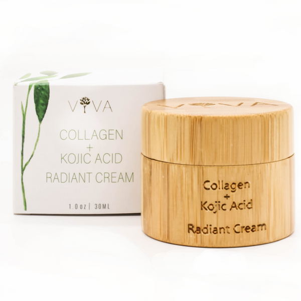 Viva Organics - Collagen and Kojic Acid Cream All Things Being Eco Organic Skin Care Store Chilliwack
