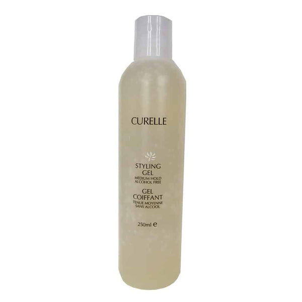 Curelle - Medium Hold Natural Styling Gel Canadian Made Hair Care All Things Being Eco