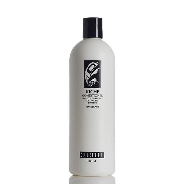 Curelle - Riche Conditioner (With Pump) All Things Being Eco Chilliwack Natural Unscented Conditioners