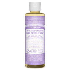 Dr.Bronner's - 18-in-1 Lavender Liquid Castile Soap 8oz