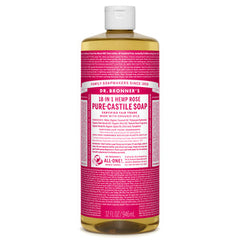 Dr.Bronner's - 18-in-1 Rose Liquid Castile Soap