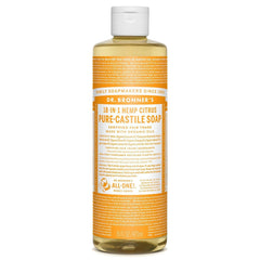 Dr.Bronner's - 18-in-1 Citrus Liquid Castile Soap 16oz