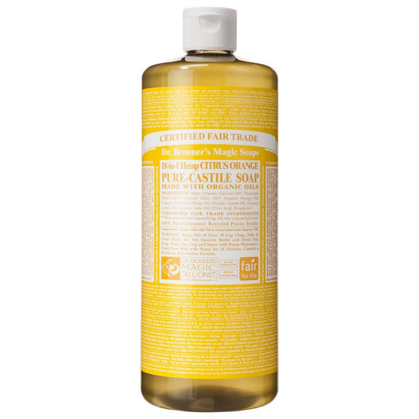 Dr.Bronner's - 18-in-1 Citrus Liquid Castile Soap 32oz
