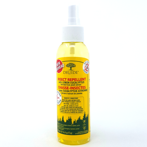 Druide - Lemon Eucalyptus Insect Repellent 130ml Deet Free Made in Canada  All Things Being Eco