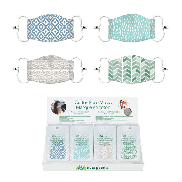 Evergreen - Adult Antimicrobial Face Mask Print
