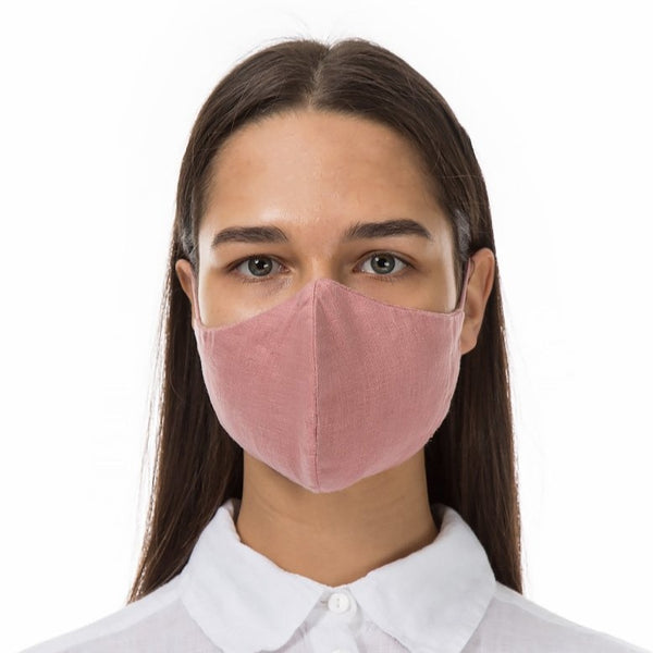 Grizas - Adult 100% Linen Reusable Fabric Face Masks