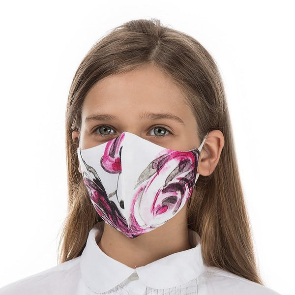 Grizas - Kids Print 100% Linen Reusable Fabric Face Masks