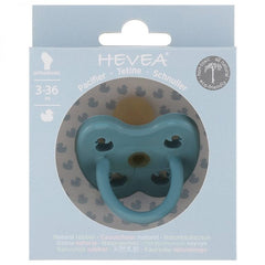 Hevea - Twilight Blue Natural Rubber Ducks Orthodontic Pacifier All Things Being Eco Chilliwack Biodegradable