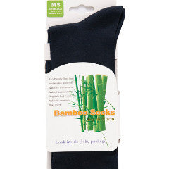 Hiltech Bamboo - Dress Socks Black