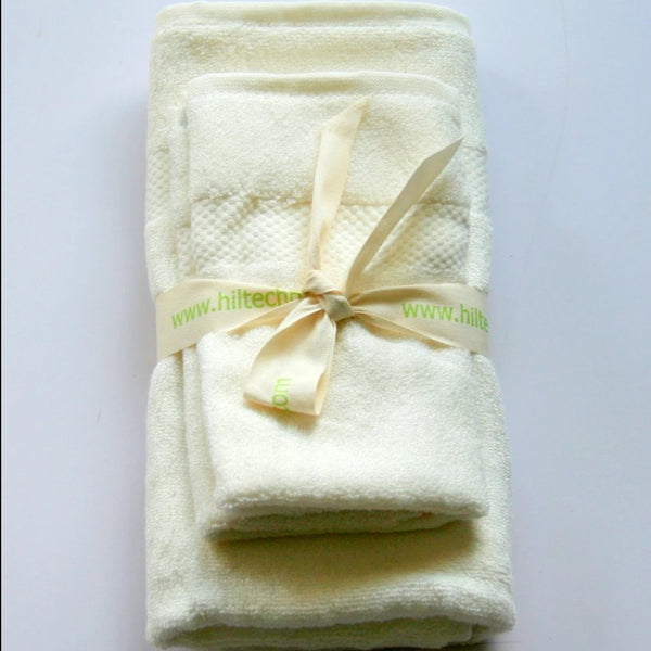 Hiltech Bamboo - 100% Bamboo Small Towel Sets All Things Being Eco Bamboo Towels