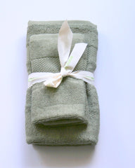 Hiltech Bamboo - 100% Bamboo Small Towel Sets All Things Being Eco Chilliwack Bamboo Towels Olive