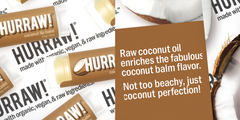 Hurraw! - Coconut Lip Balm
