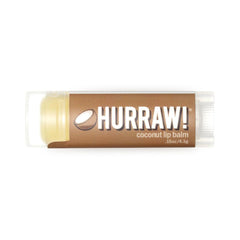Hurraw! - Coconut Lip Balm All Things Being Eco Vegan raw