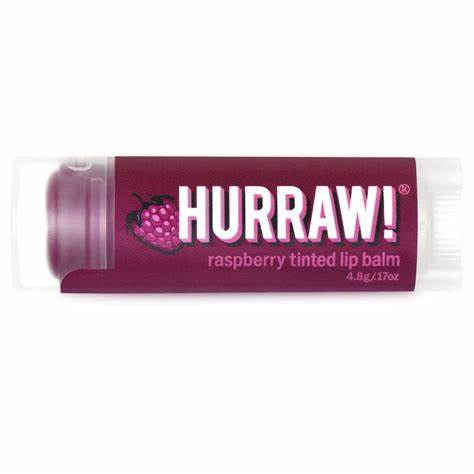Hurraw! - Raspberry Tinted Lip Balm Vegan Cruelty Free All Things Being Eco