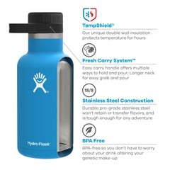 Hydro Flask - 64oz. Insulated Beer or Kombucha Growler All Things Being Eco Chilliwack Zero Waste Refillery Technology