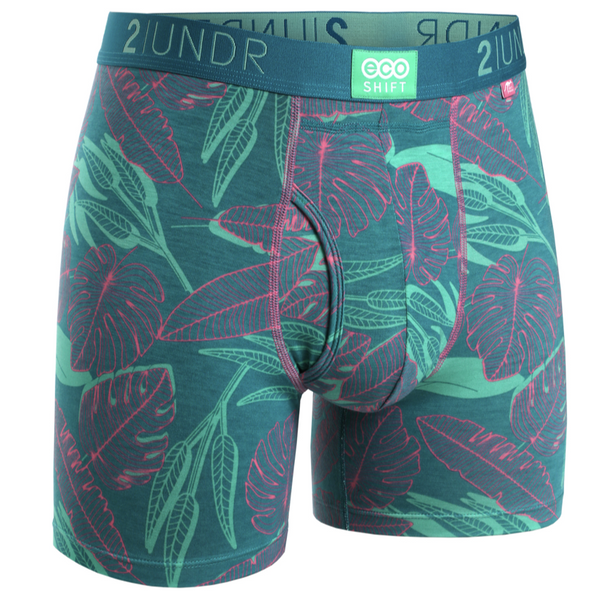 2UNDR - Printed Eco Shift Boxer Jungle Fever