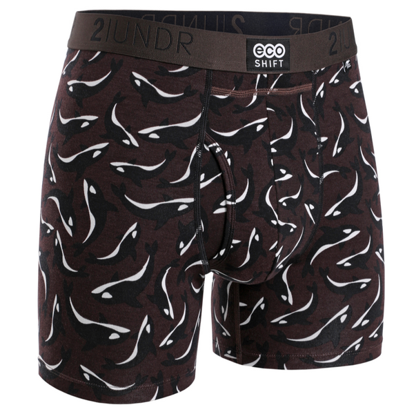 2UNDR - Printed Eco Shift Boxer Pods