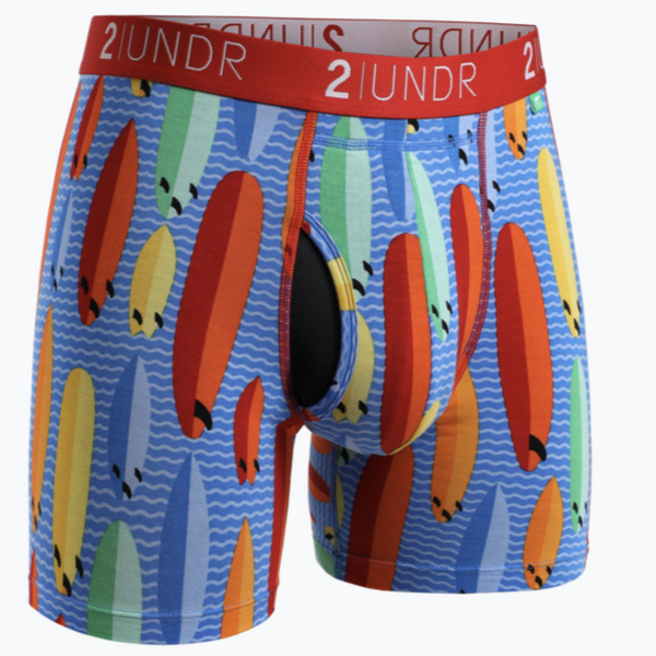 2UNDR - Printed Swing Shift Boxer Surf Shop