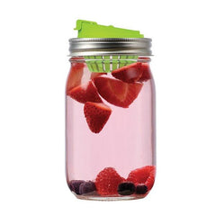 Jarware - Mason Jar Fruit Infusion Lid