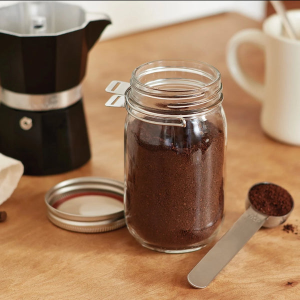 Jarware - Mason Jar Regular Mouth Stainless Steel Spoon Clip All Things Being Eco Chilliwack