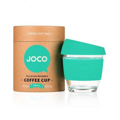 Joco Zero Waste Reusable Glass Cup Mint