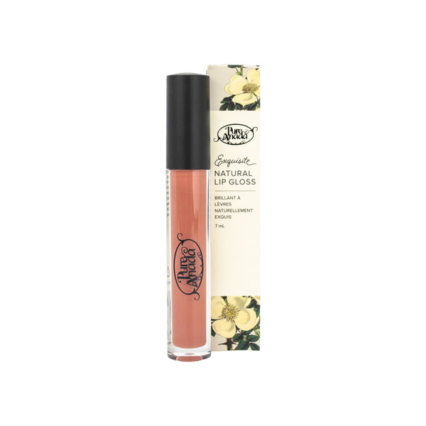 Pure Anada - Exquisite Natural Matte Lip Gloss Kiwi All Things Being Eco Chilliwack Organic Makeup