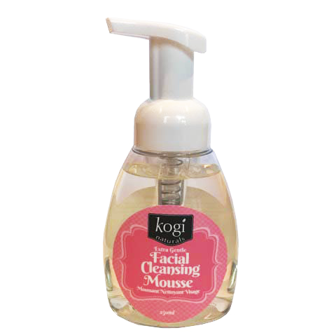 Kogi Naturals - Extra Gentle Foaming Facial Mousse 250ml Canadian Made Skin Care All Things Being Eco