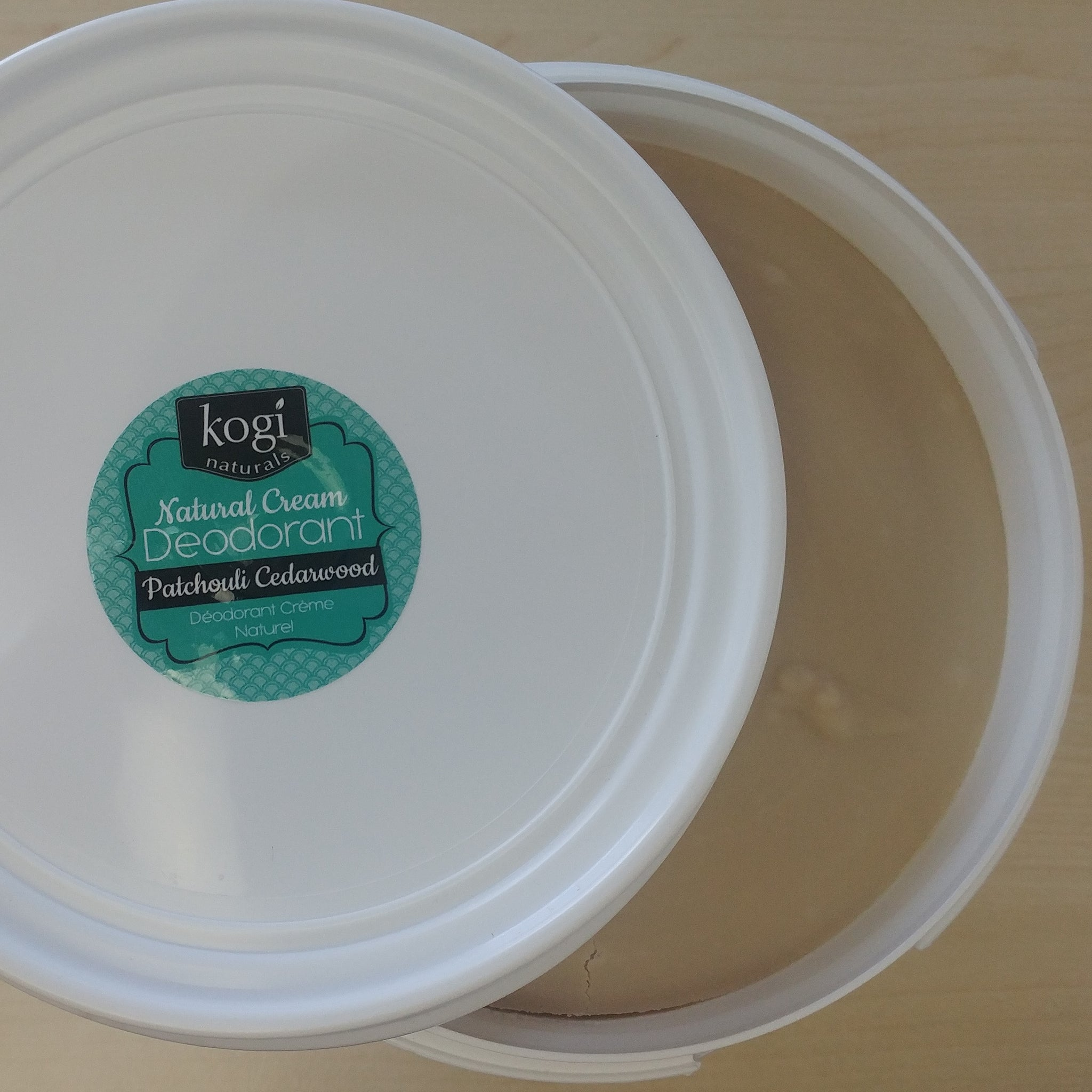 Kogi Natural - Bulk Patchouli Cedarwood Natural Deodorant