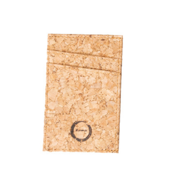 Kum Sustainable Accessories All Things Being Ecoa Eyewear - Minimalist Cork Card Holder