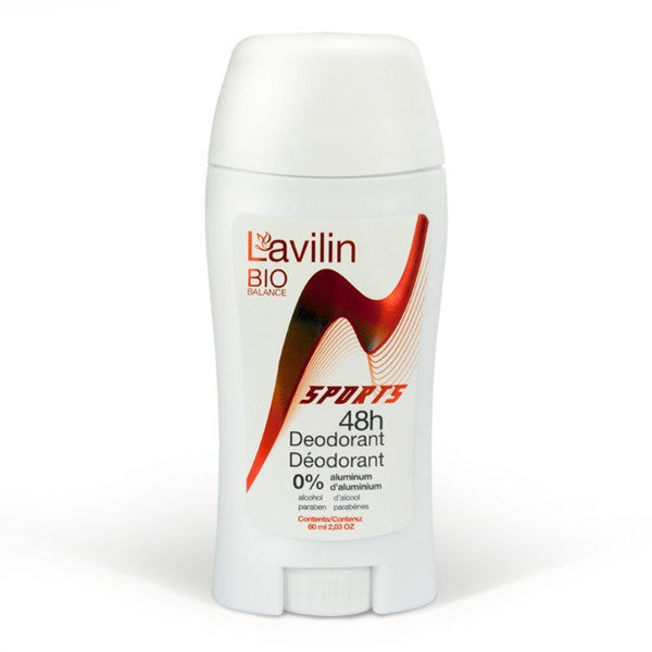 Lavilin - 48hr Sports Deodorant Stick All Things Being Eco Vancouver Natural Deodorant that Works