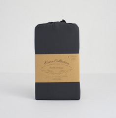 LNBF Charcoal King Size Bamboo Pillow Case Set