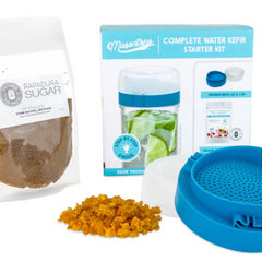 Masontops - Complete Water Kefir Starter Kit All Things Being Eco Chilliwack