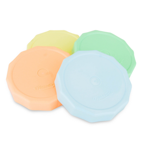 Masontops - Tough Tops Pastel Colors 4 Pack