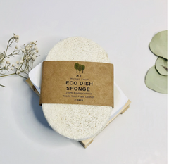 Me Mother Earth - Eco Dish Sponge Biodegradable Zero Waste Cleaning Cloths All Things Being Eco