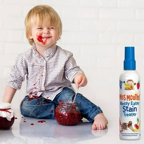 The Hate Stains Co. - Miss Mouth's Messy Eater Stain Treater Non Toxic Stain Remover All Things Being Eco