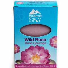 Mountain Sky - Wild Rose Bar Soap