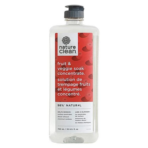 Nature Clean - Fruit & Veggie Soak Concentrate All Things Being Eco CHilliwack