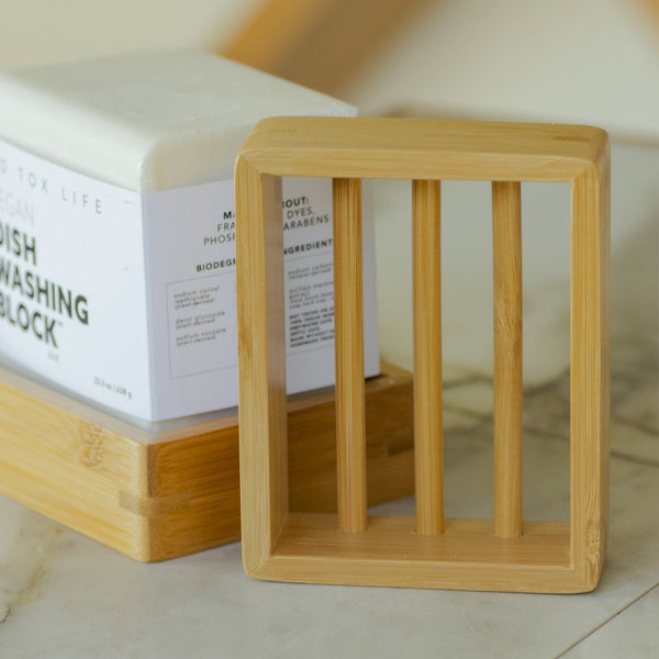 No Tox Life - Moso Bamboo Soap Shelf All Things Being Eco Chilliwack