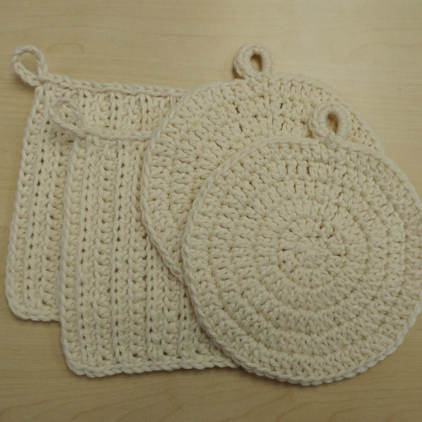 Odd Number Knits - 100% Undyed Organic Cotton Package Free Face Cloths