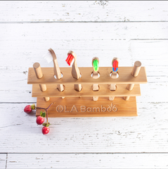 Ola Bamboo - Bamboo Multiple Toothbrush Holder All Things Being Eco Chilliwack Zero Waste Refillery