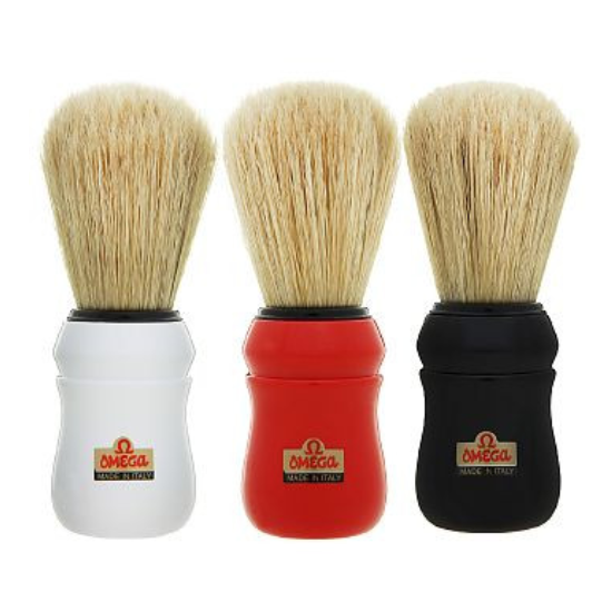 Omega - Professional Boar Bristle Shaving Brush All Things Being Eco