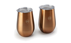 Outset - Stainless Steel Double Wall Drink Tumblers