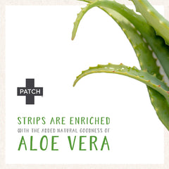 Patch - Aloe Vera Organic Bamboo Bandages Natural First Aid Products All Things Being Eco