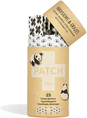 Patch - Kids Eco-Friendly Organic Bamboo Bandages Bio-degradable First Aid Products All Things Being Eco