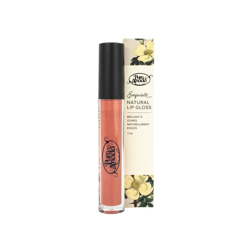 Pure Anada - Exquisite Natural Matte Lip Gloss Peach All Things Being Eco Chilliwack