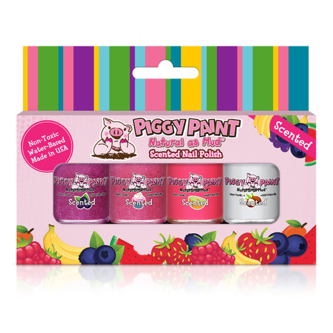 Piggy Paint - Scented Sweet Treats Nail Polish Gift Set All Things Being Eco
