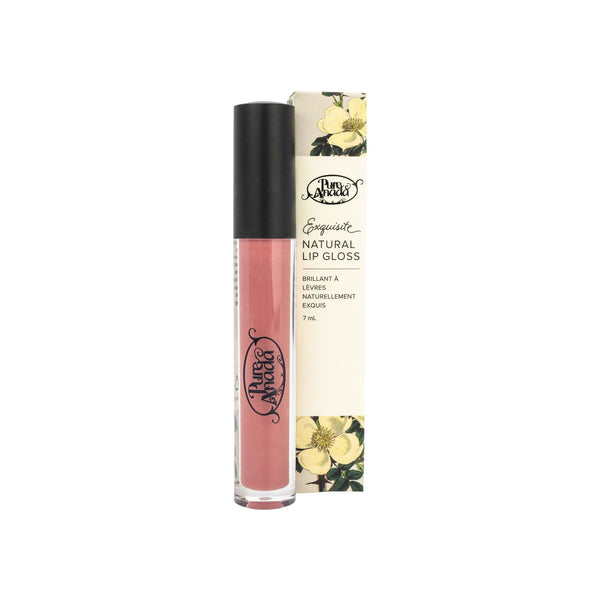 Pure Anada - Exquisite Natural Matte Lip Gloss Plum All Things Being Eco Chilliwack