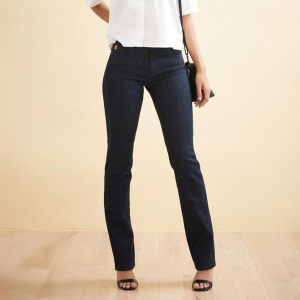 Second Yoga Jeans - Classic Rise Chloe Straight in Prague